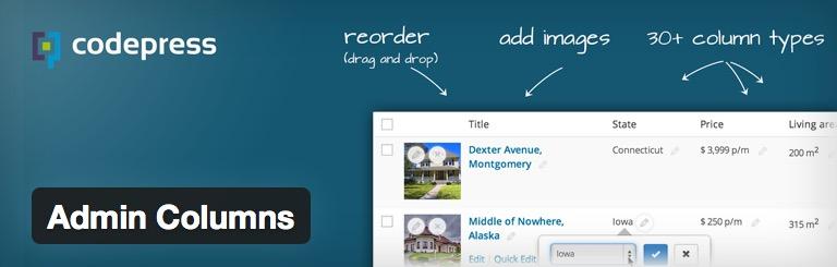 [WordPress] 投稿一覧や固定ページ一覧にカラムを追加するプラグイン