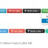 [WordPress]CSS3のボタンが作れるプラグイン