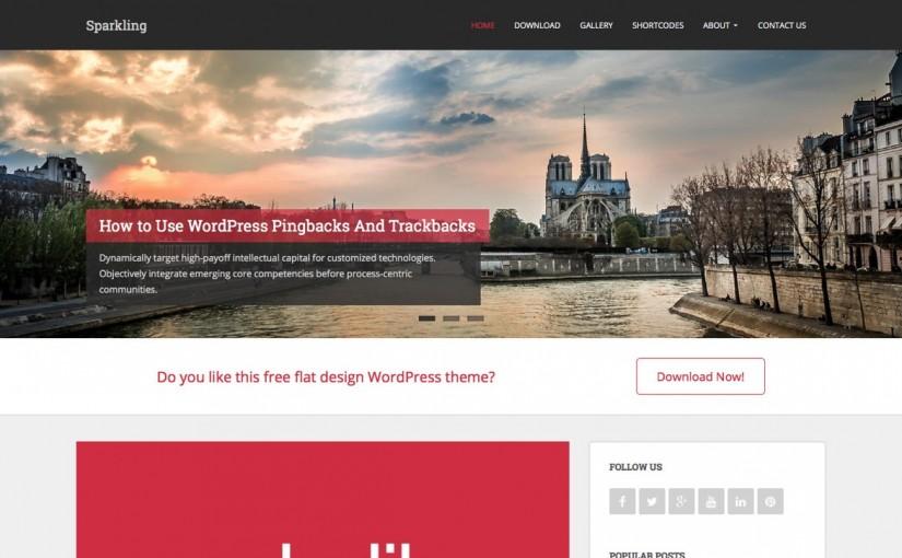 Bootstrapを使用した無料のWordPressテーマ
